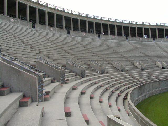 Where People Aren T Harvard Stadium Soldier S Field